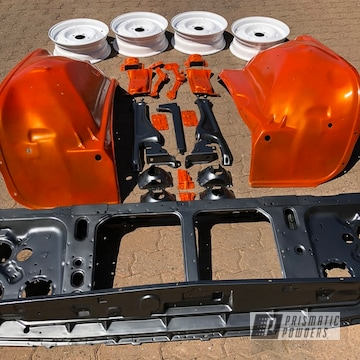 Powder Coated Auto Parts