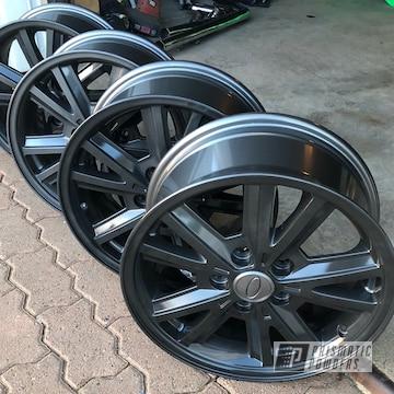 Powder Coated 18 Inch Wheels