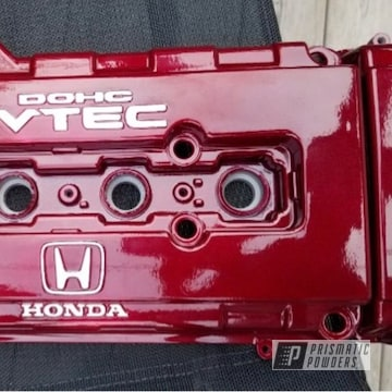 Powder Coated Valve Cover