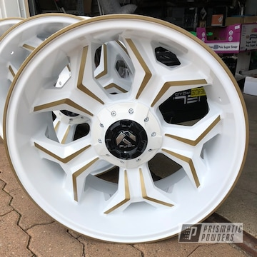 Powder Coated Fuel Wheels