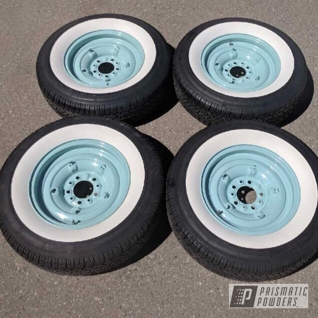 Powder Coating: Wheels,Automotive,Green Bean PSB-2759