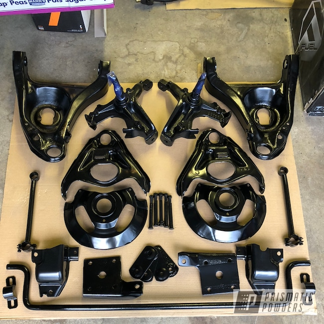 Powder Coating: Matte Black PSS-4455,Automotive,Chassis Parts,chassis