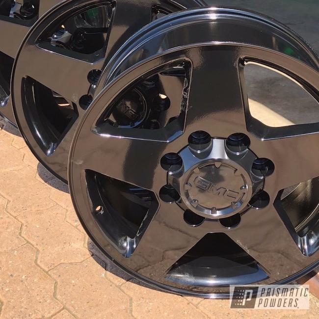 "Powder Coating: Wheels,Automotive,GLOSS BLACK USS-2603,20"",20"" Wheels"