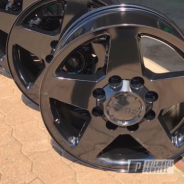 Black Powder Coated Gmc Wheels