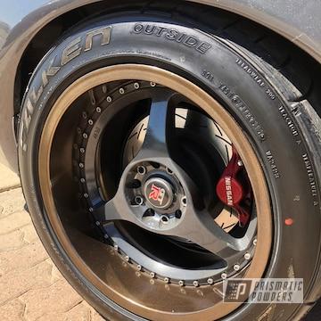 Powder Coated Rhd Gtr Wheels