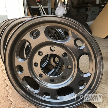 Powder Coated 4x4 Wheels