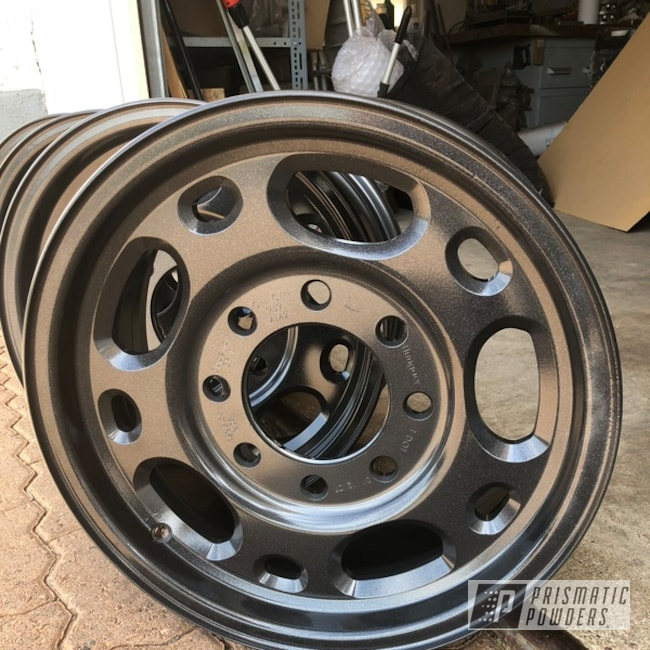 Powder Coating: Wheels,Automotive,4x4,4x4 Wheels,ULTRA BLACK CHROME USS-5204
