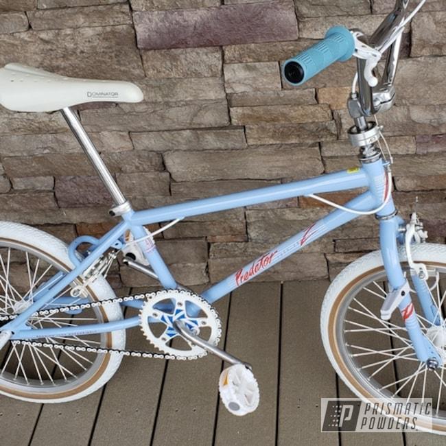Blue Powder Coated Schwinn Bike Predator
