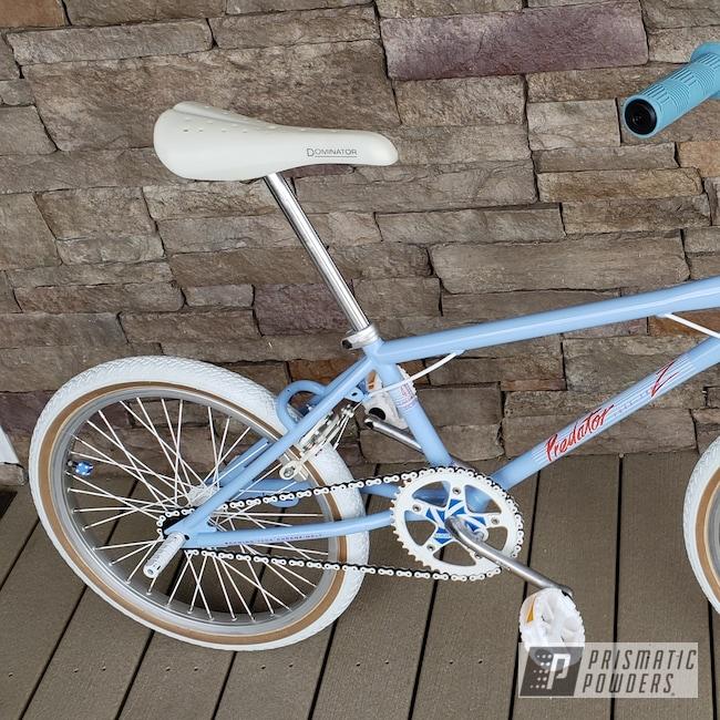 Powder Coating: Bicycles,Schwinn Bike,Troll Blue PSS-2657,Bicycle Frame,Predator