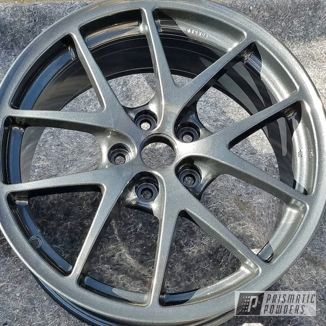 Powder Coated Rockin Rims In Charcoal