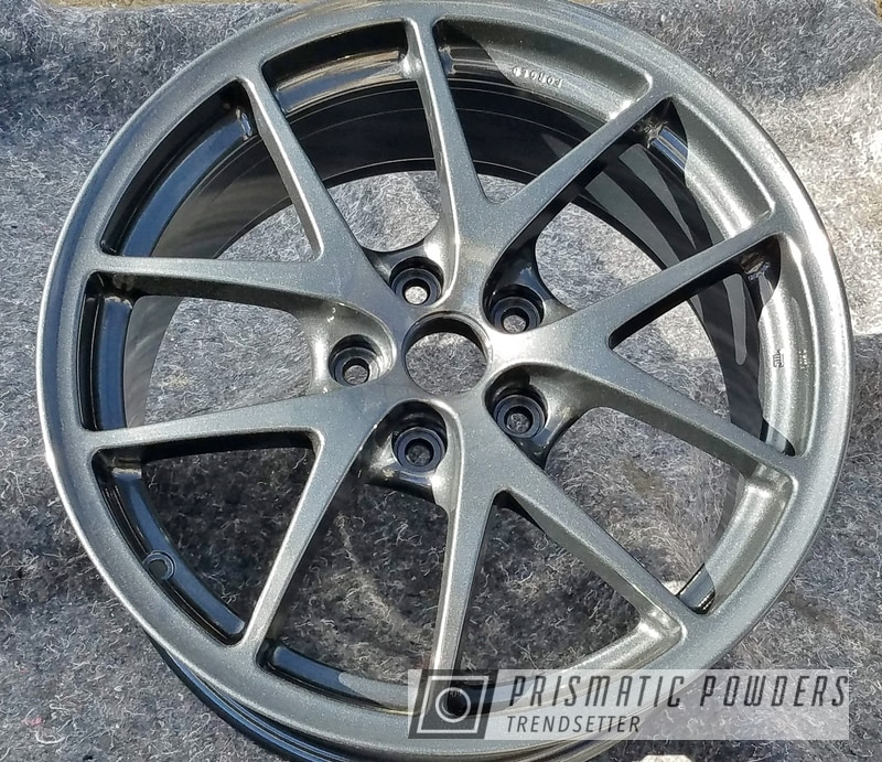 """Powder Coating: Wheels,Automotive,rockin rims,Clear Vision PPS-2974,18"""",Highend Charcoal,Applied Plastic Coatings,18"""" Wheels,Highend Charcoal PMB-6477"""