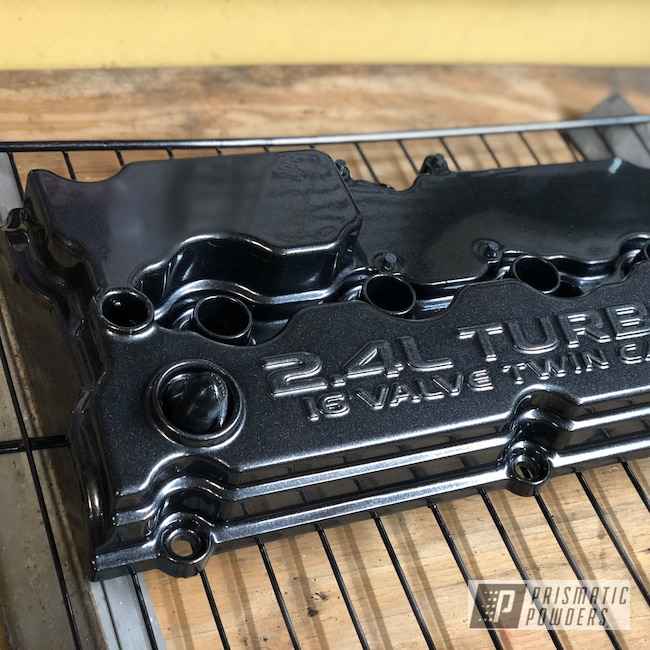 Powder Coating: srt4,Dodge,Valve Cover,Cadillac Grey PMB-6377