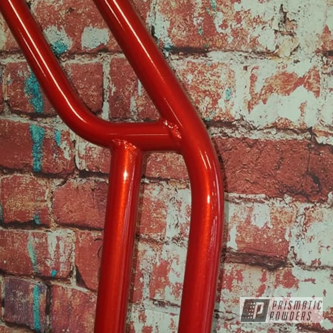Powder Coating: Clear Vision PPS-2974,Illusion Red PMS-4515,Frame,racing,Go Cart