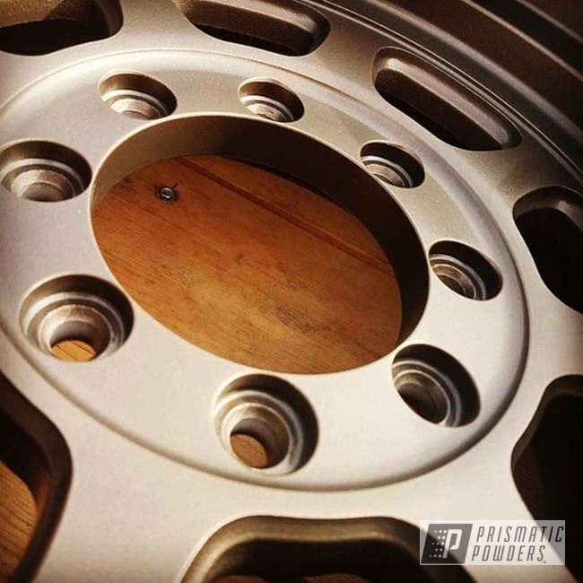 "Powder Coating: HALLISTER BRONZE UMB-6536,Wheels,Automotive,17"" Wheels"