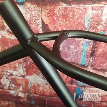 Powder Coated Black Bike Frame