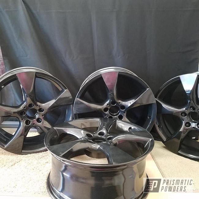 """Powder Coating: Wheels,19"""" Wheels,Automotive,Clear Vision PPS-2974,Black Metallic PMB-4105,Custom Wheels,Aluminum Rims,Mercedes Benz,19"""" Aluminum Rims"""
