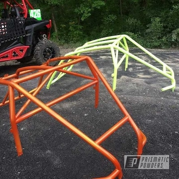 Powder Coated Polaris Roll Cages