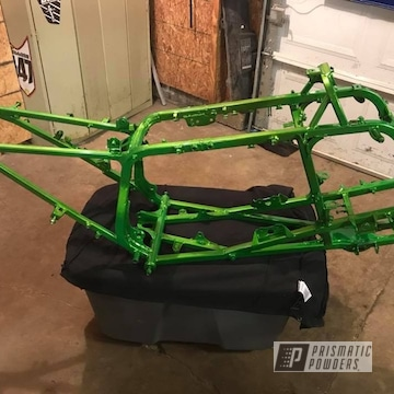 Powder Coated Honda Trx Atv Frame