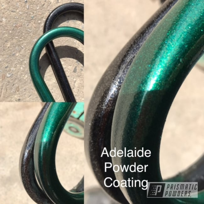 Powder Coating: Clear Vision PPS-2974,Powder Coated Frame,Ultra Illusion Green PMB-5346