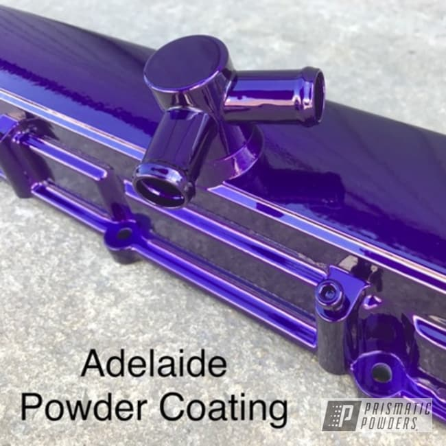Powder Coating: Illusion Purple PSB-4629,Clear Vision PPS-2974,Powder Coated Frame,Valve Cover