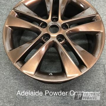 Powder Coated Bronze Wheel