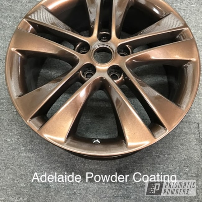 Powder Coating: Wheels,Automotive,Bronze Copper PMB-6482
