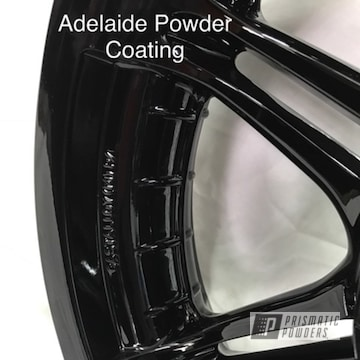 Powder Coated Black Motorcycle Parts