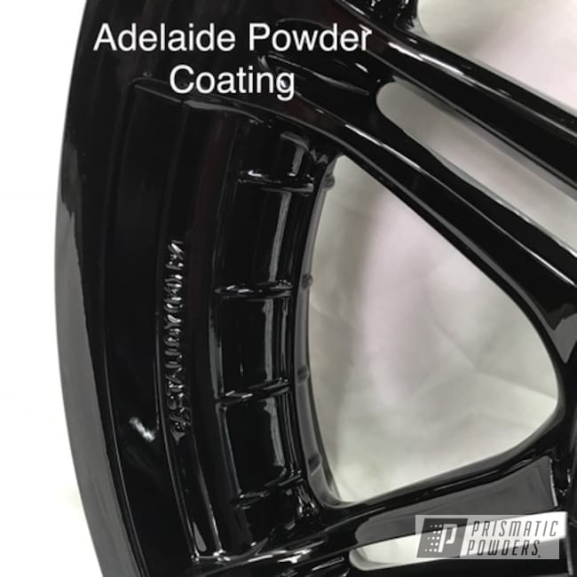 Powder Coating: Motorcycle Parts,Ink Black PSS-0106,Motorcycles