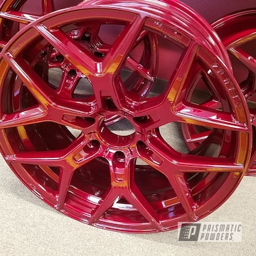 Custom Red Wheels