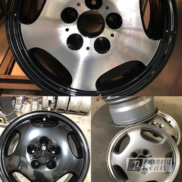 Powder Coated Mercedes Aluminium Wheels