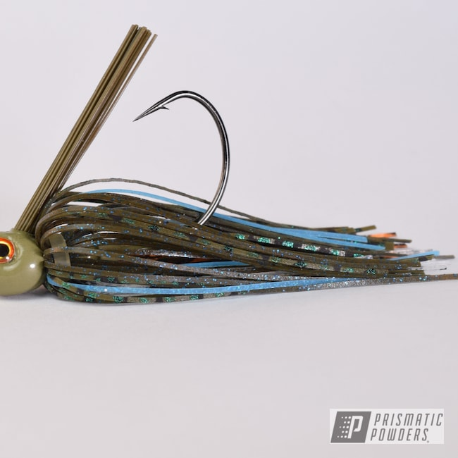 Powder Coating: Fishing Jig,Arney Green PSB-6858,Miscellaneous