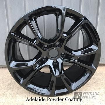 Black Powder Coated Rim