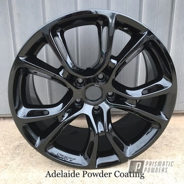 Black Powder Coated Rim