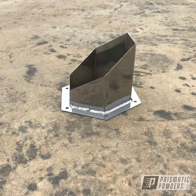 Powder Coating: Automotive,SUPER CHROME USS-4482,Exhaust Tip,Hoodstack