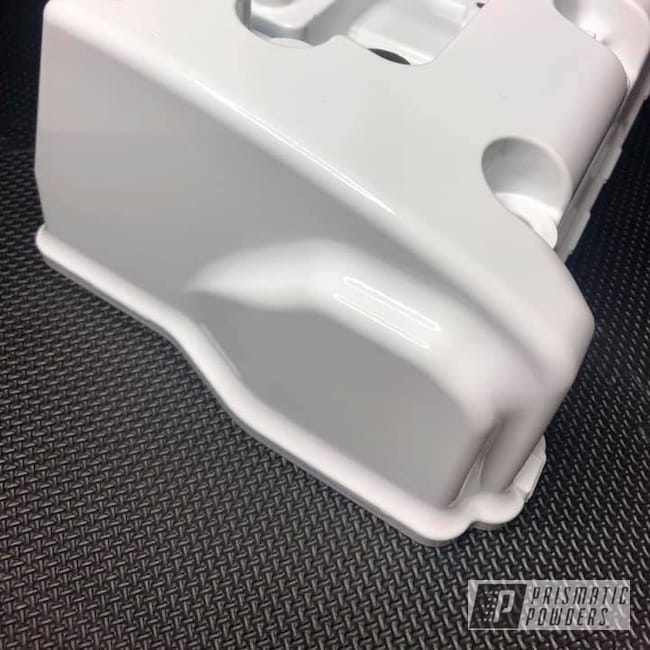 Powder Coating: Automotive,K24,Honda,Polar White PSS-5053,Valve Cover