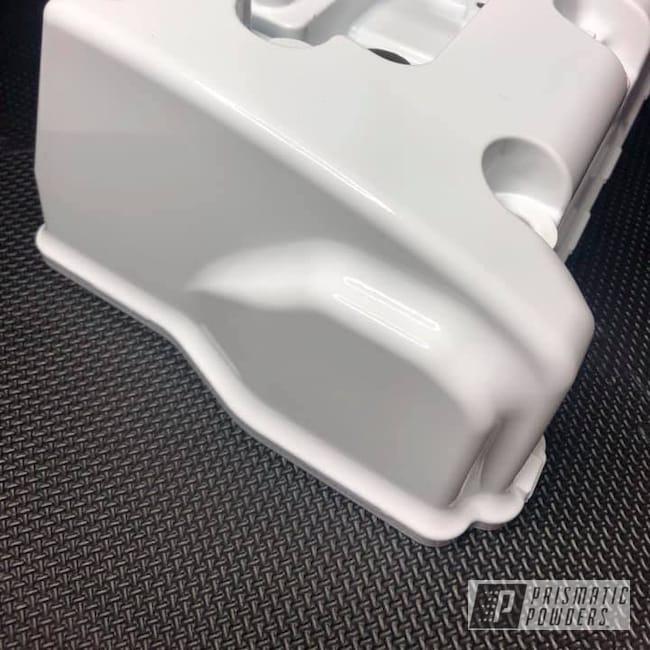 Powder Coating: Automotive,K24,Honda,Polar White PSS-5053,Valve Cover