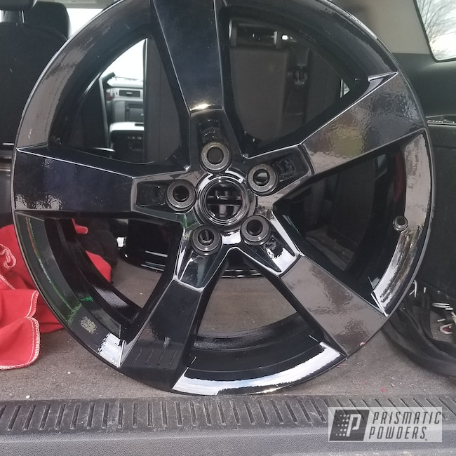 "Powder Coating: Wheels,Automotive,Clear Vision PPS-2974,Chevrolet,Ink Black PSS-0106,Caprice,Chevy,20"" Wheels"