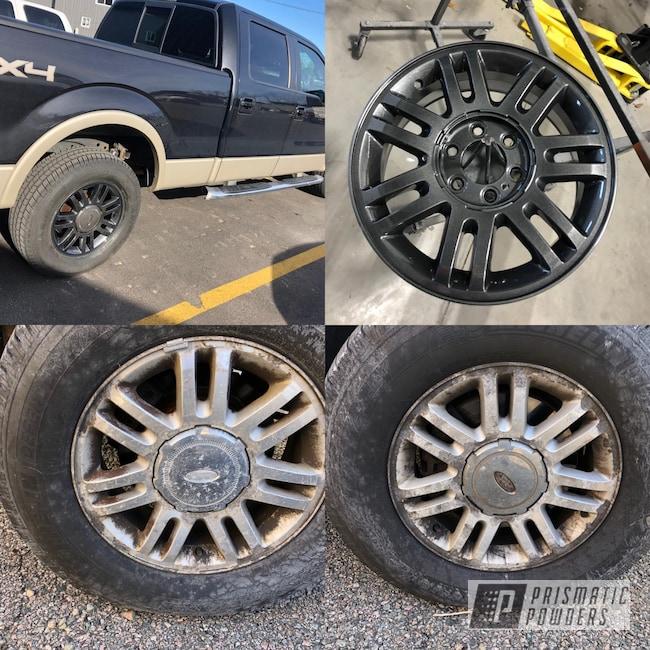 Powder Coating: Wheels,Automotive,Clear Vision PPS-2974,Aluminium Wheels,Aluminum Rims,Corrosion Wheels,Ford,Refinish,F150,Cadillac Grey PMB-6377