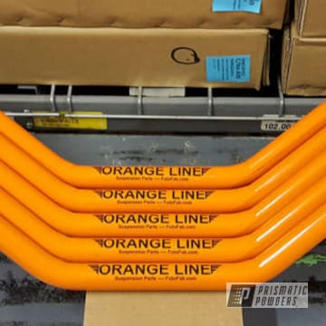 Powder Coated Orange Sway Bars
