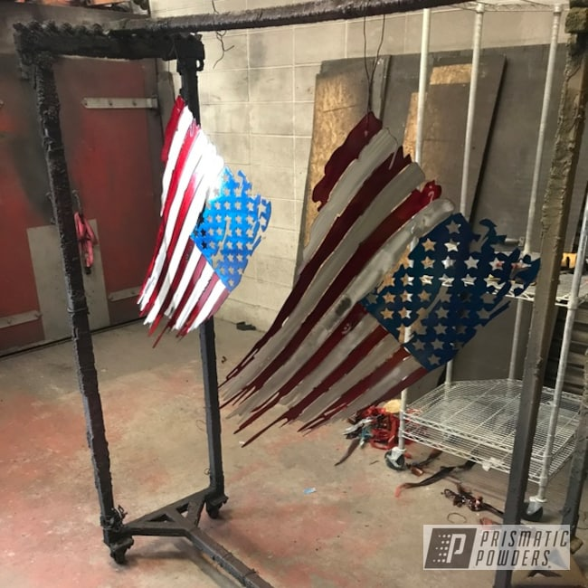 Powder Coated Tattered Boutique Flag