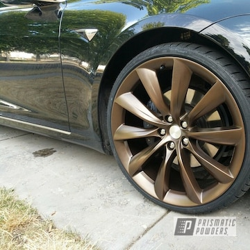 Powder Coated Tesla 2500 22 Inch Wheels