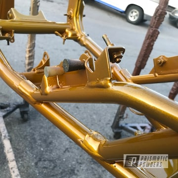 Powder Coated Yamaha Yz450 Atv Frame