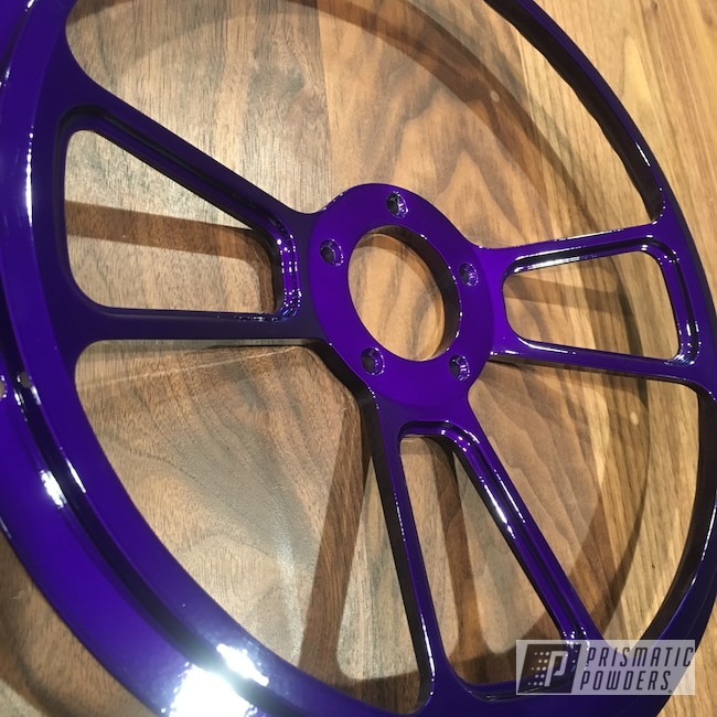 Powder Coating: Illusion Purple PSB-4629,Clear Vision PPS-2974,Polaris,RZR,Light