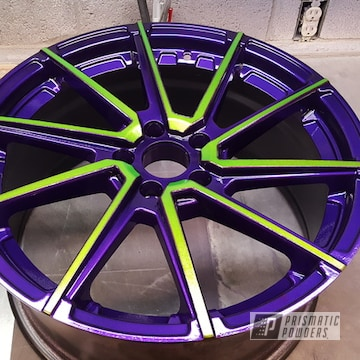 Powder Coated Two Toned 18 Inch Wheels