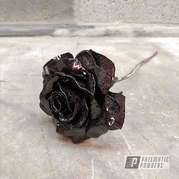 Powder Coated Metal Rose