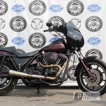 Powder Coated Harley Davidson Fxr Motorcycle Parts