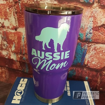Powder Coated Dog Themed Drinkware