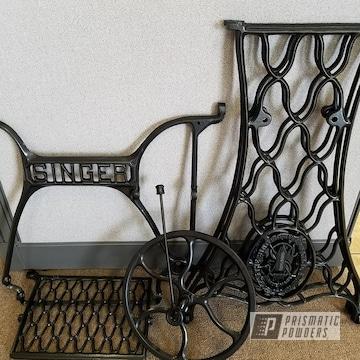 Powder Coated Vintage Sewing Machine