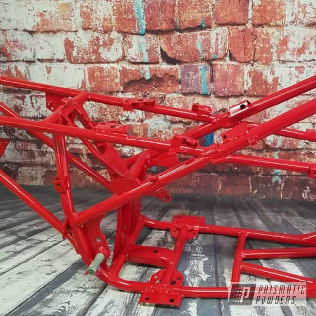 Powder Coating: Passion Red PSS-4783,ATV Frame,Off Road,ATV