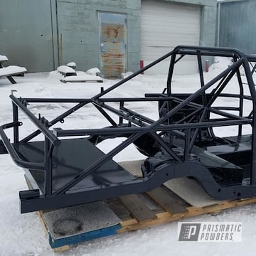 Powder Coated Black Car Frame